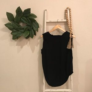 Anthropologie Tops - [Anthropologie] Cloth & Stone Black Tank Tank Top